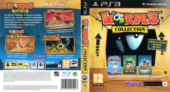 Worms Collection PS3 cover (BLES01610)