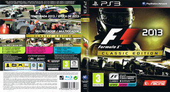 F1 2013 Classic Edition PS3 cover (BLES01870)