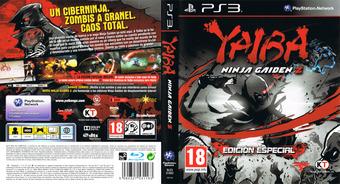 Yaiba: Ninja Gaiden Z PS3 cover (BLES01892)