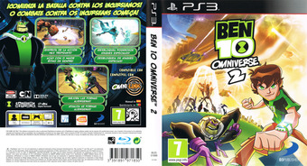 Ben 10: Omniverse 2 PS3 cover (BLES01899)
