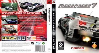 Ridge Racer 7 pochette PS3 (BCES00009)