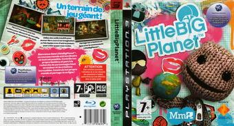 LittleBigPlanet pochette PS3 (BCES00141)