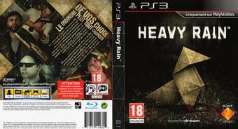 Heavy Rain pochette PS3 (BCES00797)