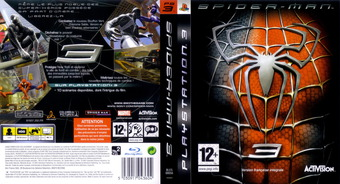 Spider-Man 3 pochette PS3 (BLES00056)