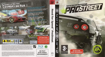 Need for Speed: ProStreet pochette PS3 (BLES00176)