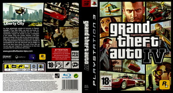 Grand Theft Auto IV pochette PS3 (BLES00229)