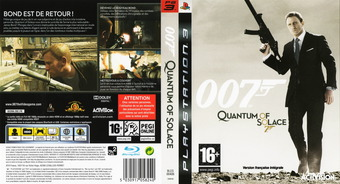 007 : Quantum of Solace pochette PS3 (BLES00406)