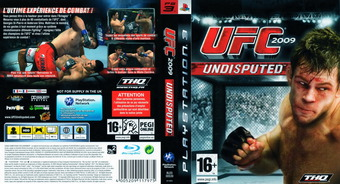 UFC 2009: Undisputed pochette PS3 (BLES00539)