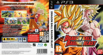 Dragon Ball: Raging Blast pochette PS3 (BLES00693)