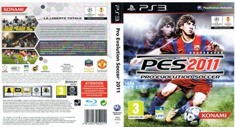 Pro Evolution Soccer 2011 pochette PS3 (BLES01022)