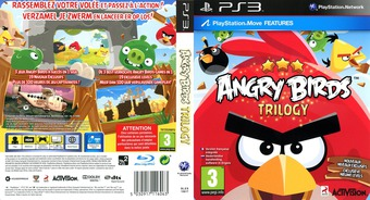 Angry Birds Trilogy pochette PS3 (BLES15617)