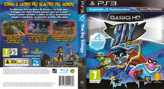 The Sly Trilogy PS3 cover (BCES00968)
