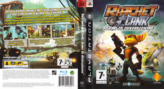 Ratchet & Clank: Tools of Destruction PS3 cover (BLES00052)