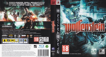 Wolfenstein PS3 cover (BLES00564)