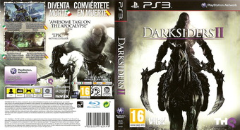 Darksiders II PS3 cover (BLES01597)
