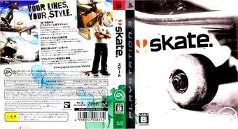 Skate PS3 cover (BLJM60070)