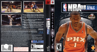 NBA 08 PS3 cover (BCUS98144)