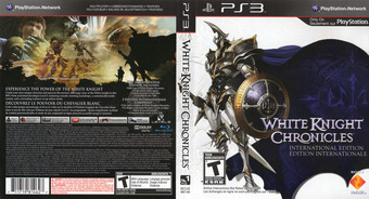 White Knight Chronicles: International Edition PS3 cover (BCUS98146)