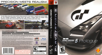 Gran Turismo 5: Prologue PS3 cover (BCUS98158)