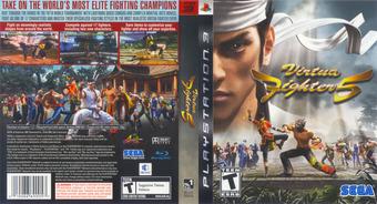 Virtua Fighter 5 PS3 cover (BLUS30020)