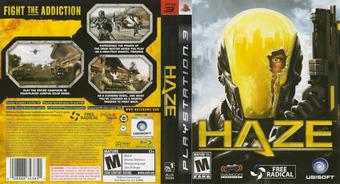 Haze PS3 cover (BLUS30094)