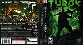 Turok PS3 cover (BLUS30104)