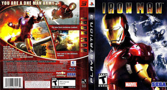 Iron Man PS3 cover (BLUS30134)