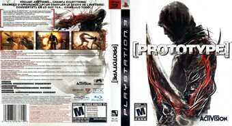 Prototype PS3 cover (BLUS30145)