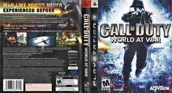 Call of Duty: World at War PS3 cover (BLUS30192)