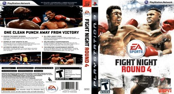 Fight Night: Round 4 PS3 cover (BLUS30285)