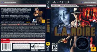 L.A. Noire PS3 cover (BLUS30554)