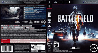 Battlefield 3 PS3 cover (BLUS30762)