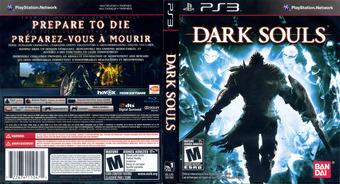 Dark Souls PS3 cover (BLUS30782)