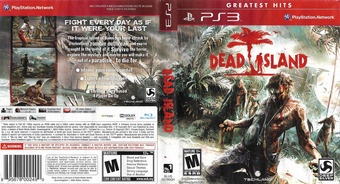 Dead Island PS3 cover (BLUS30790)