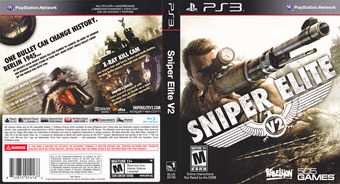 Sniper Elite V2 PS3 cover (BLUS30798)