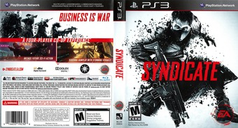 Syndicate PS3 cover (BLUS30804)