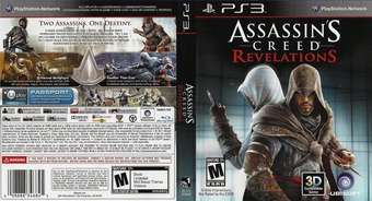Assassin's Creed: Revelations PS3 cover (BLUS30808)