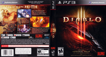 Diablo III PS3 cover (BLUS31188)