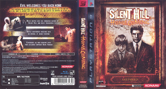 Silent Hill: Homecoming PS3 cover (BLAS50074)