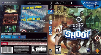 The Shoot PS3 cover (BCUS98222)
