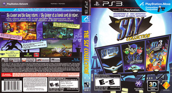 The Sly Collection PS3 cover (BCUS98246)