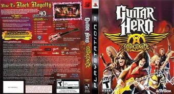Guitar Hero: Aerosmith PS3 cover (BLUS30133)