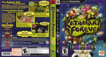 Katamari Forever PS3 cover (BLUS30336)