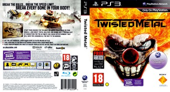 Twisted Metal PS3 cover (BCES01010)