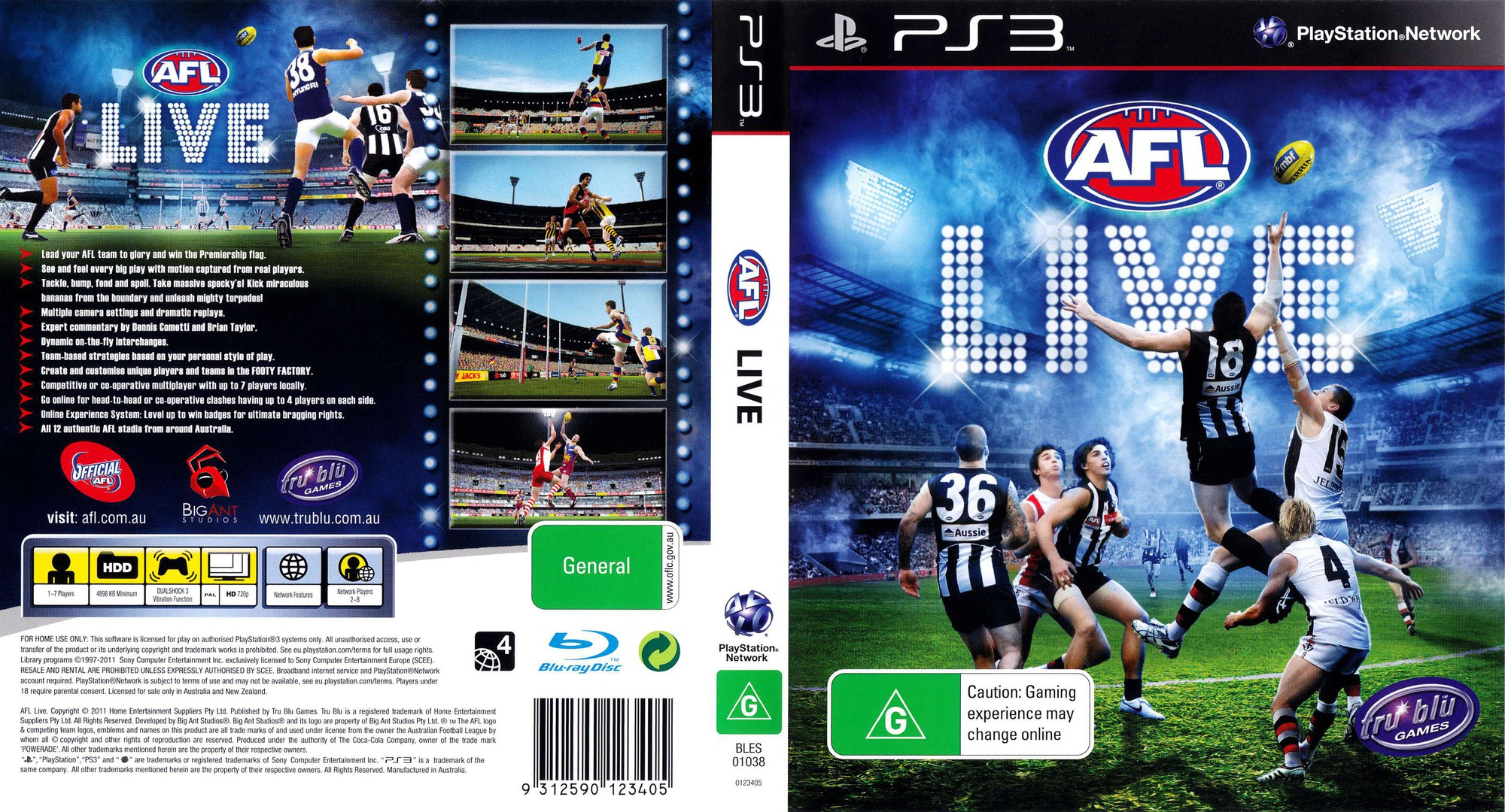 AFL Live PS3 coverfullHQ (BLES01038)