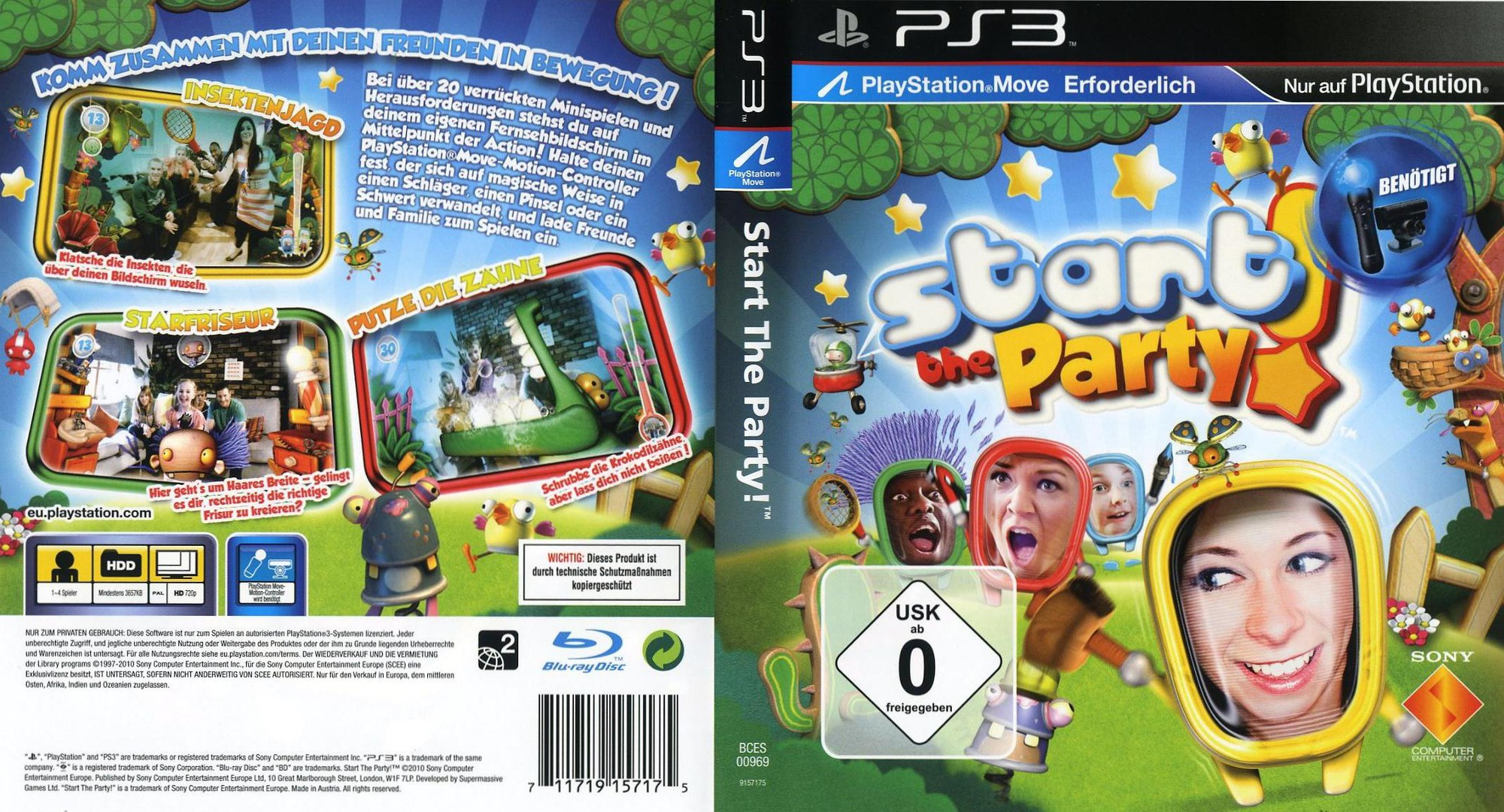 A Game That Starts With A Ps3 : Bces start the party