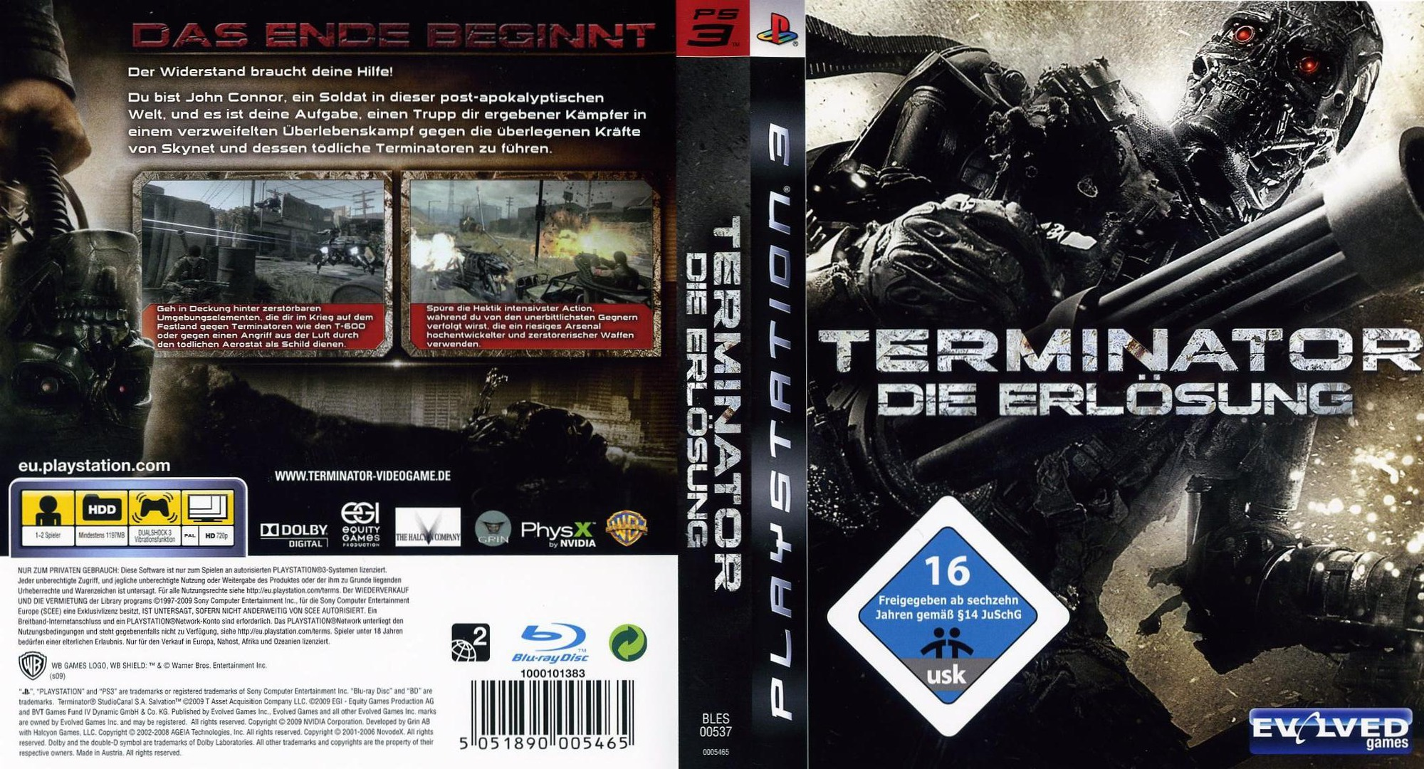 Terminator-Die Erlüsung PS3 coverfullHQ (BLES00537)
