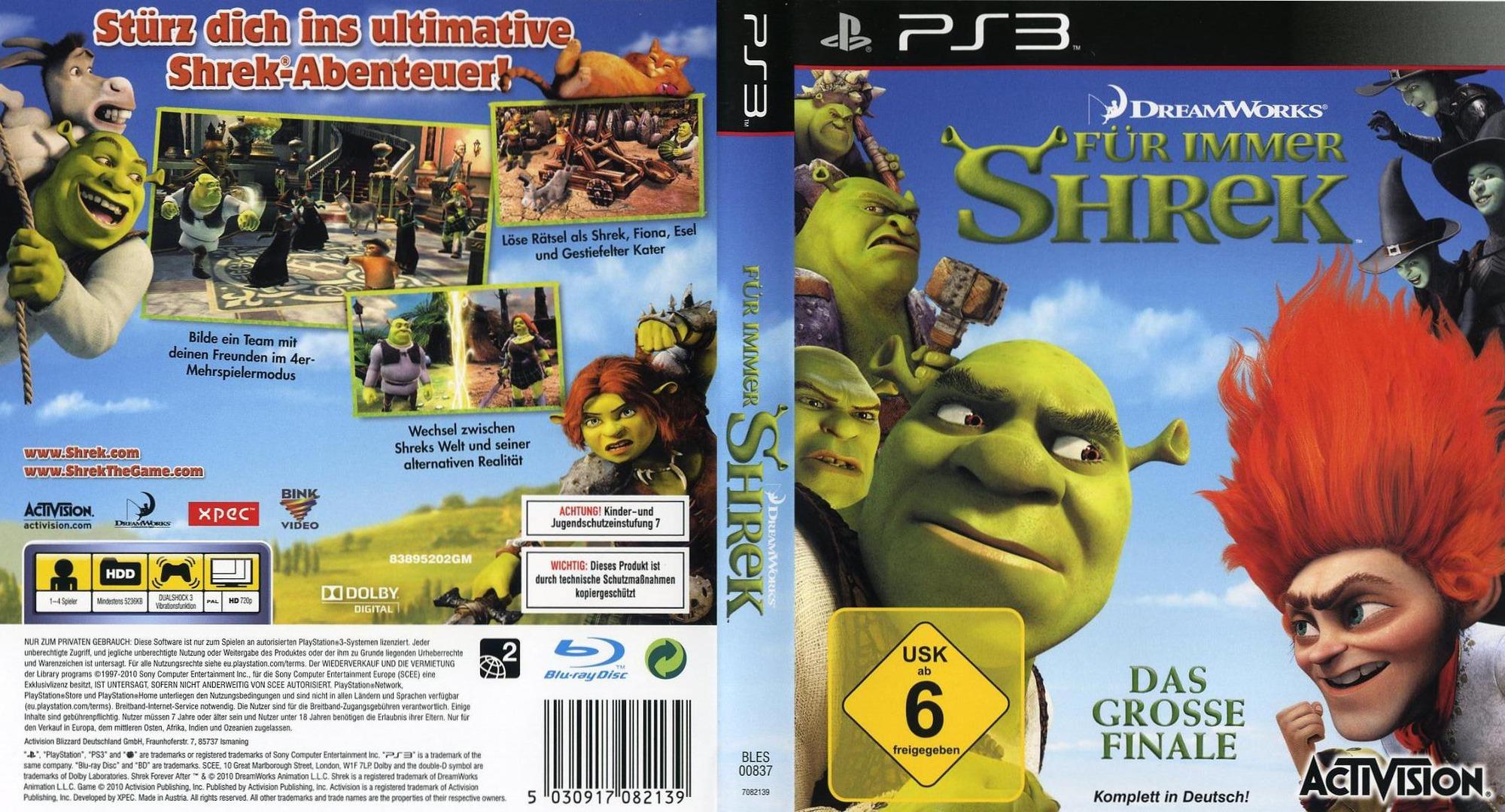 Für Immer Shrek PS3 coverfullHQ (BLES00837)