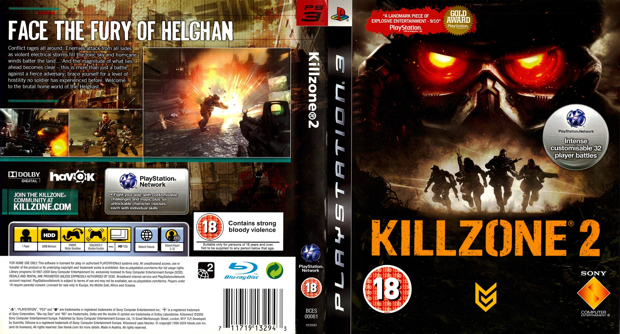 Killzone 2 Array coverfullHQ (BCES00081)