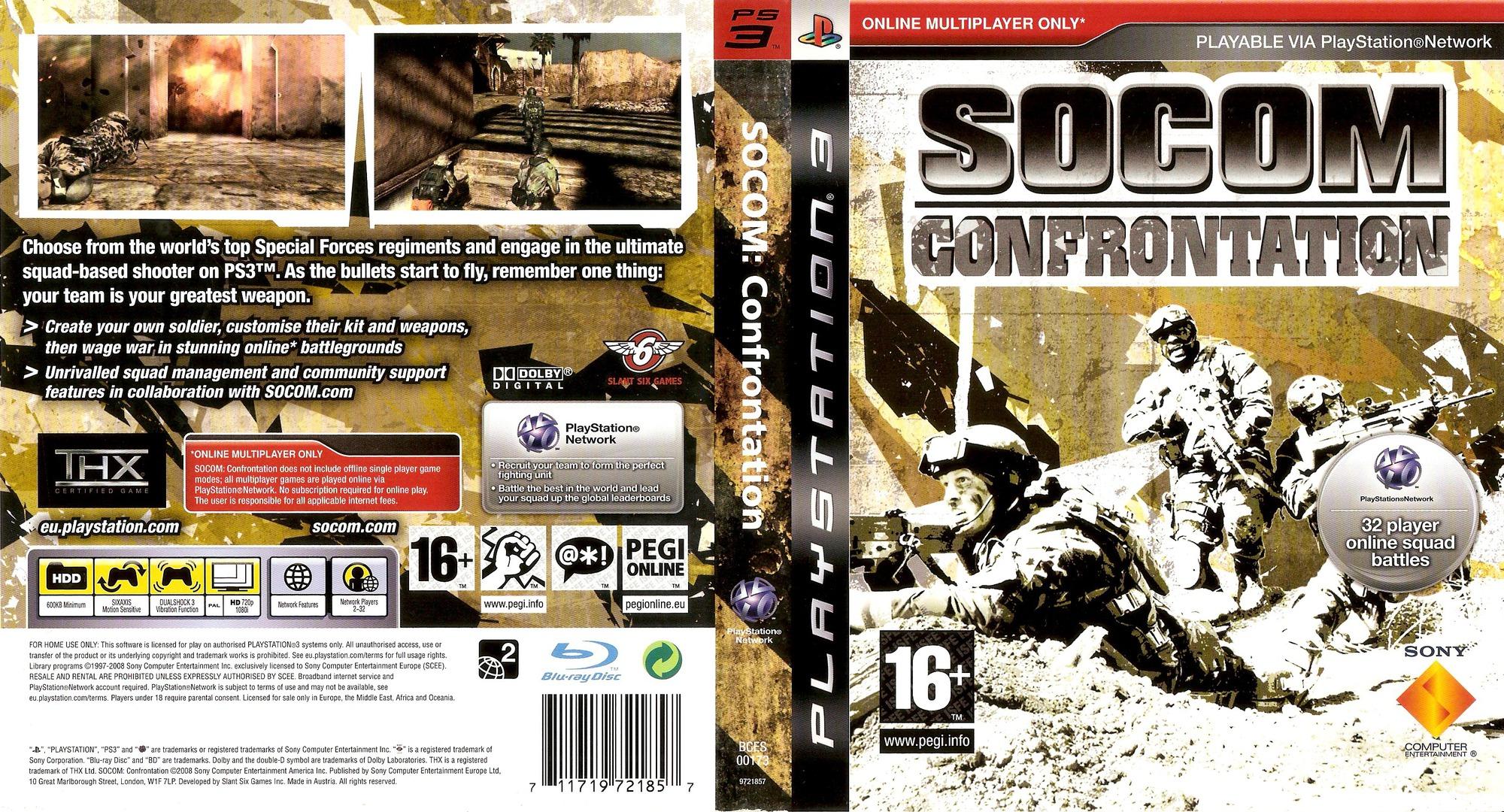 SOCOM Confrontation PS3 coverfullHQ (BCES00173)
